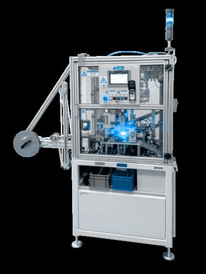 Jednoúčelový stroj na kontrolu kvality hedvábných kotoučků