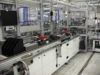 Poloautomatická výrobní linka na startovací modul