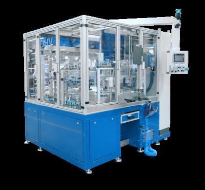 Nový poloautomatický montážní stroj